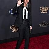Luka Sabbat at the 2020 NAACP Image Awards