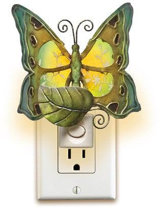 Deco Breeze Decor Butterfly Night Light