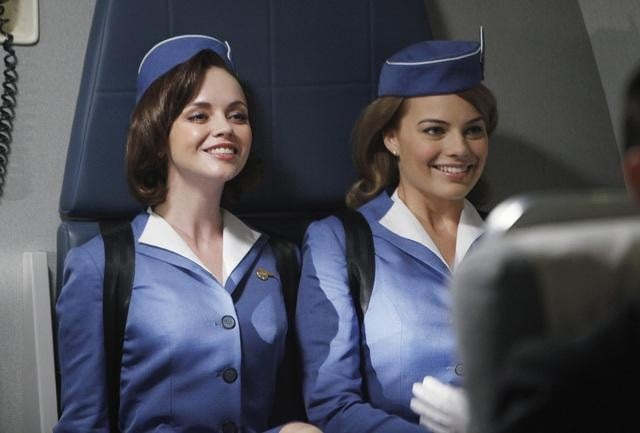 Christina Ricci and Margot Robbie in ABC's Pan Am.	
