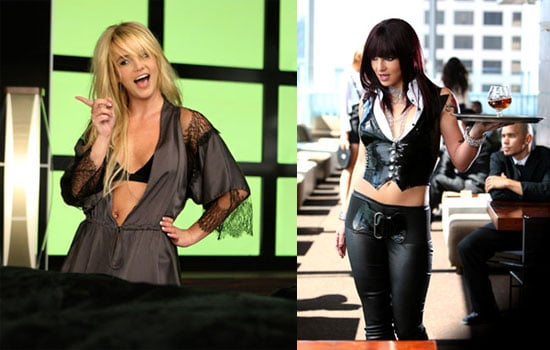 "Stills From Britney Spears's ""Womanizer"" Video"