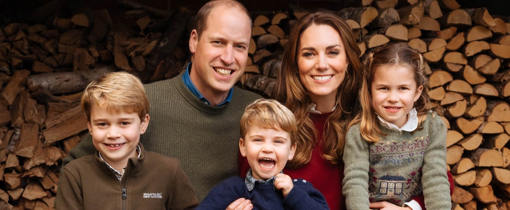 Prince William and Kate Middleton Christmas Card Photo 2020