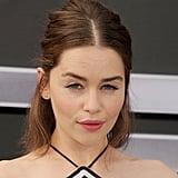 Emilia Clarke Half Updo