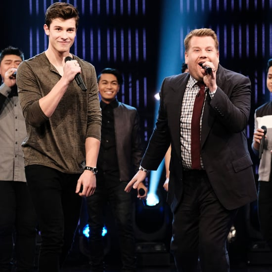 Shawn Mendes and James Corden Riff-Off Video