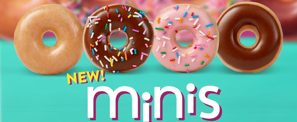 Krispy Kreme's New Mini Doughnuts Are Calorie-Friendly