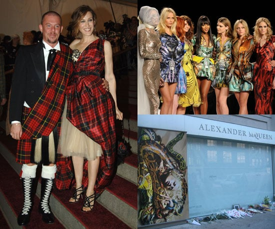 Biggest Headline of the Year: Alexander McQueen's death
