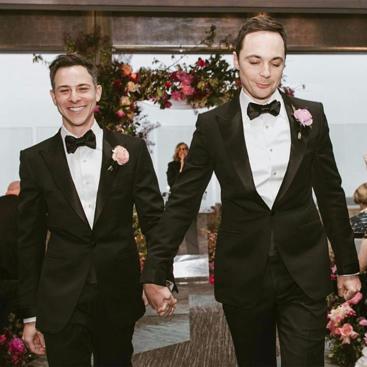 Image result for jim parsons wedding