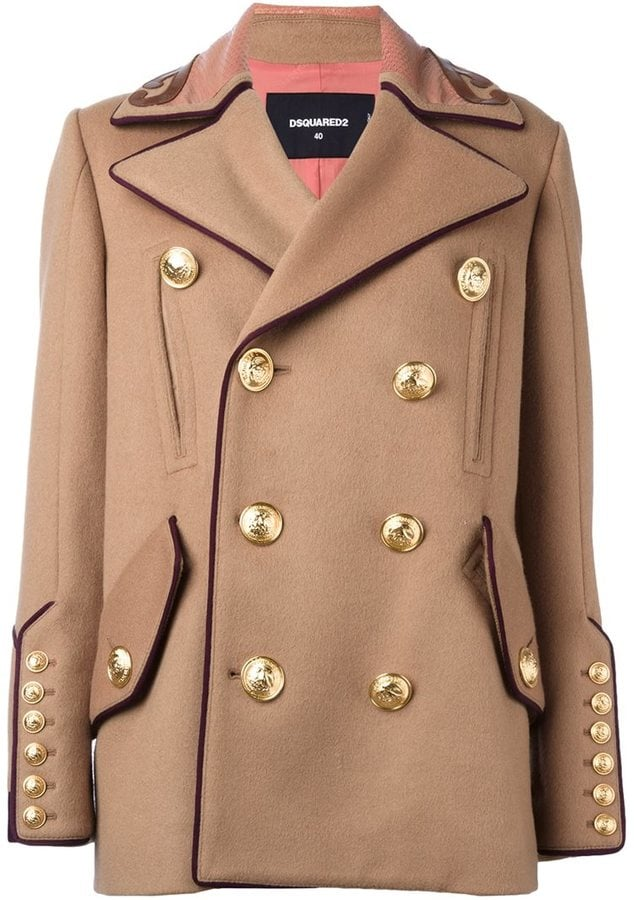 Dsquared2 Military Double Breasted Coat ($3,095)