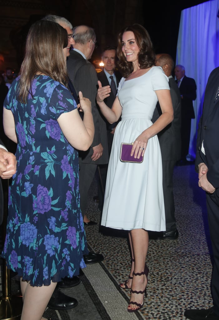 The Duchess of Cambridge Wore a Classic Dress With Shoes That Are Anything But