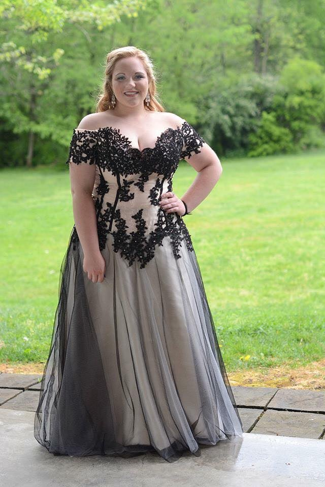 Girl In Prom Dress