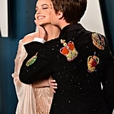 Barbara Palvin and Dylan Sprouse at the Oscars Afterparty
