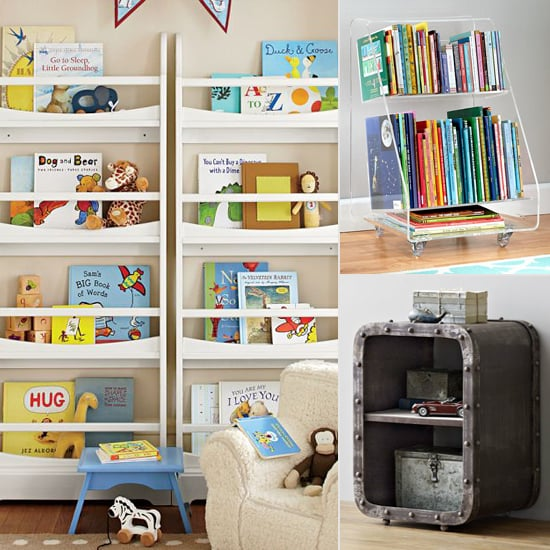 book storage for kids for small spaces popsugar moms. Black Bedroom Furniture Sets. Home Design Ideas