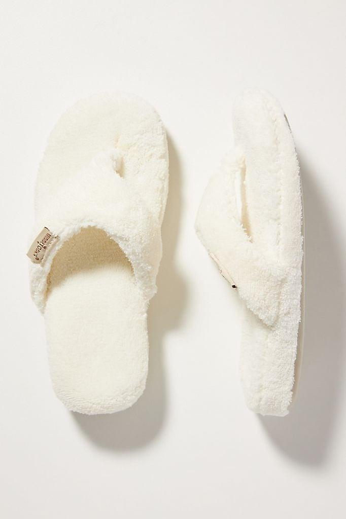 Cream Slippers