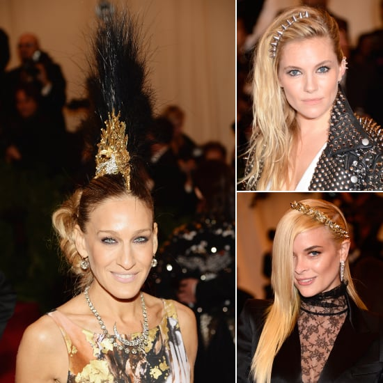 Hair Accessories at the 2013 Met Gala