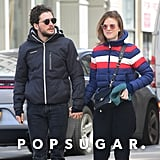Kit Harington and Rose Leslie Out in NYC March 2019