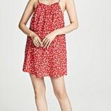 Madewell Top Ruffle Mini Dress