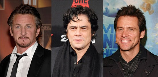 Sean Penn, Jim Carrey, and Benicio Del Toro Rumored to Star in the Farrelly Brothers' Three Stooges Movie