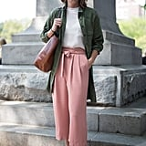 Nothing beats the heat like a linen jacket, so invest in one that goes with every outfit like an olive colored option.