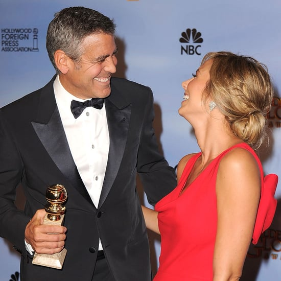 George Clooney and Stacy Keibler Award Season 2012 Pictures