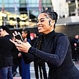 Ella Mai at the 2019 American Music Awards