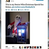 Star Trek: TNG's Wil Wheaton set the scene for new fan fiction, probably titled The Nightmare Before TARDIS.