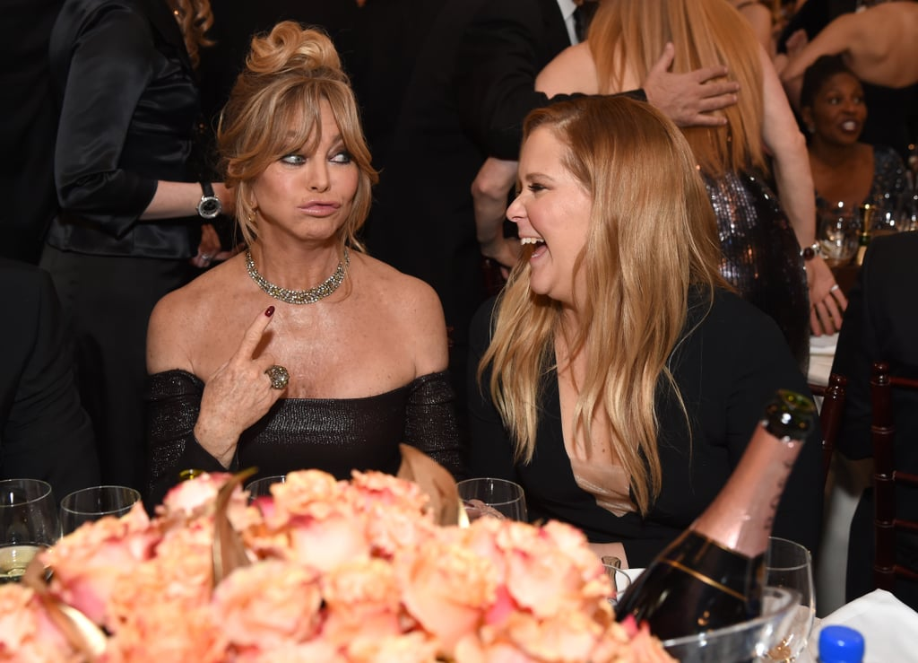 Goldie Hawn and Amy Schumer had a laugh.