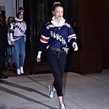 Popsugar Sneakers Fashion Gigi Hadid Reebok Silver IxYwqFpT