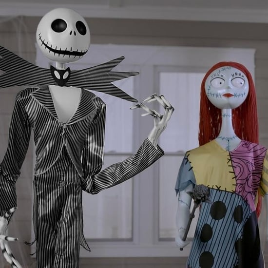 Home Depot Has Giant Jack Skellington and Sally Decor