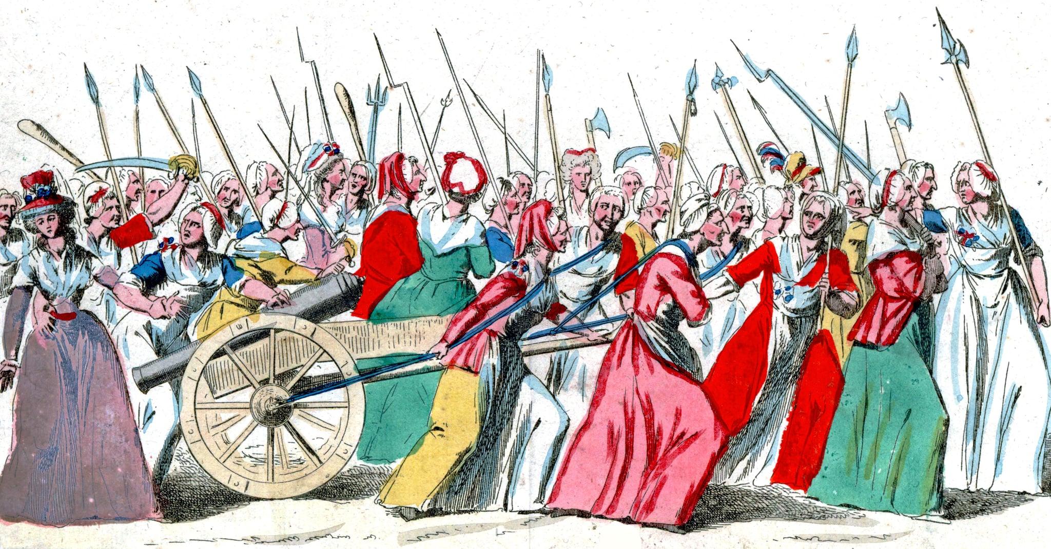 Women's March on Versailles, 1789