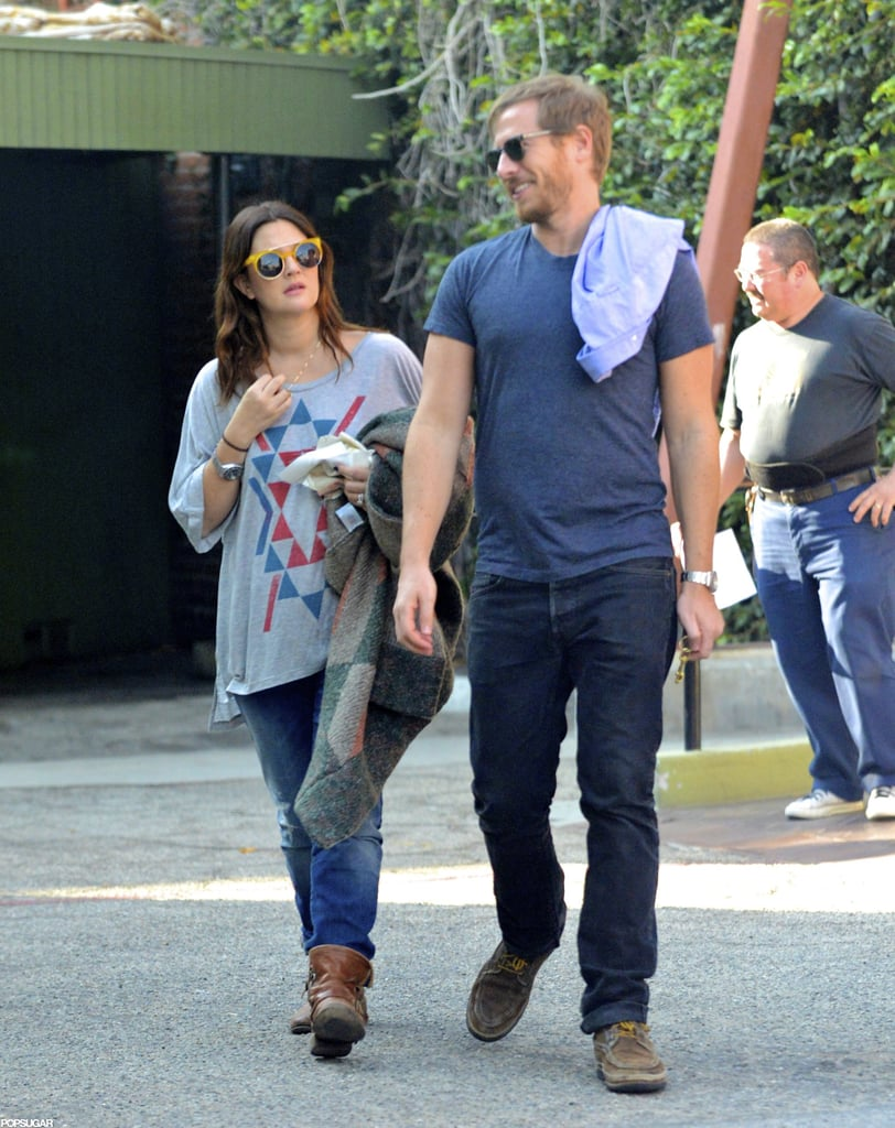 Drew Barrymore and Will Kopelman went shopping in LA.