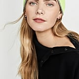 White + Warren Reversible Cashmere Plush Rib Beanie