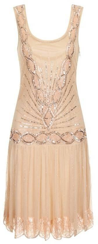 Frock and Frill Zelda Embellished Flapper Dress (£135)