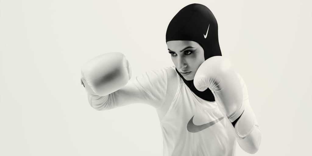 "After much anticipation, Nike has finally released its Pro Hijab. Since the product was announced earlier this year, designers at the sportswear company have been working hard at finding the right material and sizing. Now, the inclusive activewear item has officially arrived with a stunning campaign to introduce it.  The newly released campaign features three powerful athletes with different areas of expertise: fencer Ibtihaj Muhammad, boxer Zeina Nassar, and figure skater Zahra Lari. For Muhammad, the light and functional hijab couldn't have come sooner. In fact, she's often been unable to hear warnings from referees due to the thicker fabric of her usual hijab. She said in a press release, ""When the material is wet, it gets really heavy and stiff. It would completely obstruct my hearing.""  With that in mind, designers figured out how to find the most breathable fabric, all the while compiling feedback from a variety of athletes. The team at Nike also decided to sell the hijab in two different sizes as opposed to a one-size-fits-all hijab with an adjustment capability.  The Nike Pro Hijab became available on Dec. 1 at select retailers in North American, Europe, North Africa, and the Middle East. It's expected to hit Nike's website very soon, with a wider variety of colors launching in the coming year. Muhammad said she hopes the hijab will ""advance the conversation around hijabs and Muslim women in sports and further make sports an inclusive space.""      Related:                                                                                                           Barbie Just Made History With Its Latest Empowering Doll"