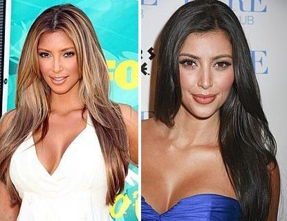 Which Haircolor? (Kim Kardashian)