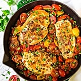 Simple Chicken and Tomatoes Skillet