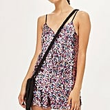 Topshop Sequin Romper Playsuit