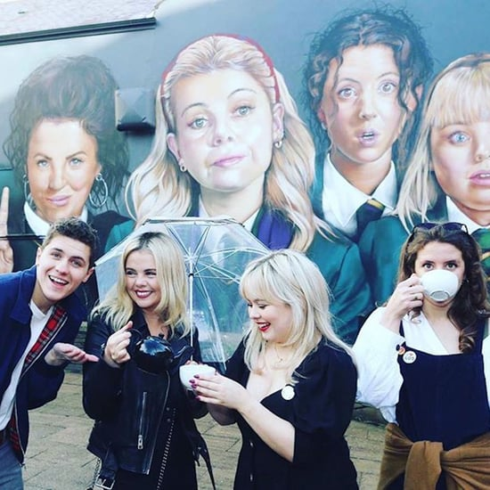 Derry Girls Cast Hanging Out Together Pictures