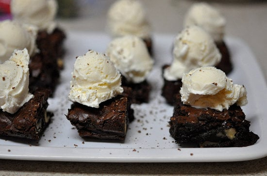 Mini Brownie Sundaes