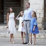 Spanish Royals Photocall in Palma de Mallorca 2018