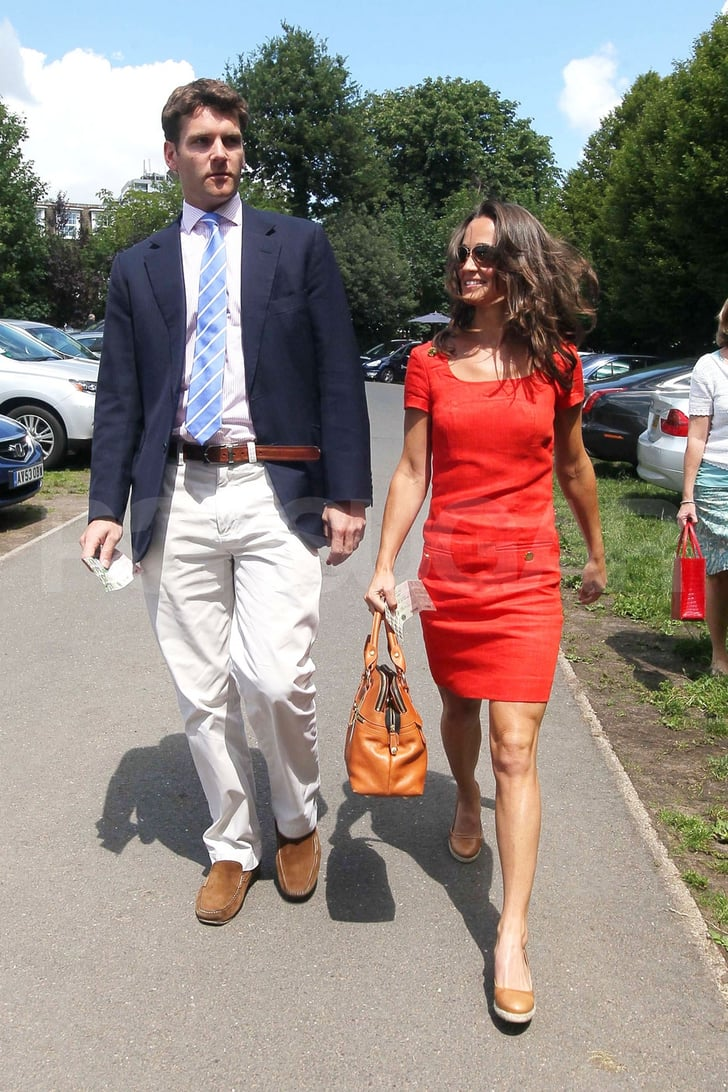 Pippa Middleton and Alex Loudon happily dating.