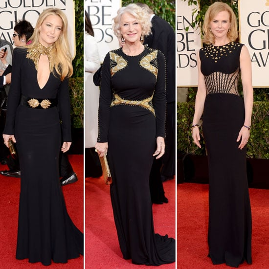 2013 Golden Globe Awards Trends: The Midas Touch
