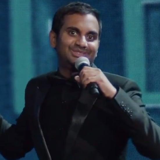 Aziz Ansari Netflix Special Interview