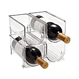 With these fridge wine bins ($8), you can stack your favorite bottles of chardonnay and sav blanc neatly in the fridge.