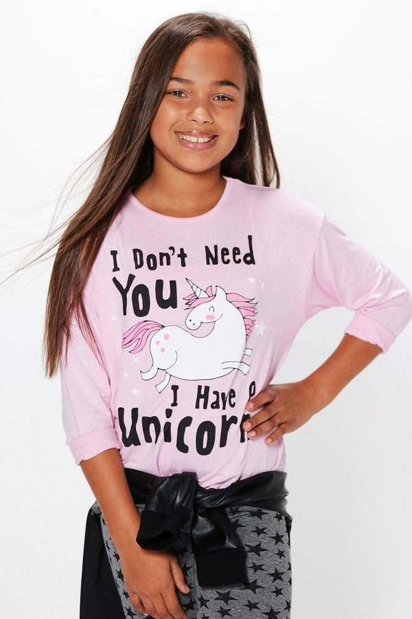 Unicorn Long Sleeve Top
