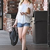 Kirsten Dunst stopped by a convenience store to grab a few items.