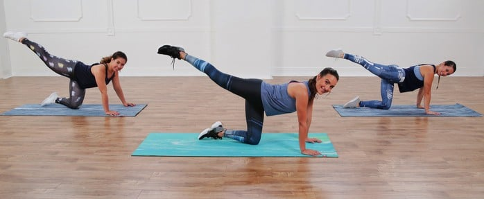 10-Minute No-Equipment Booty-Toning Workout