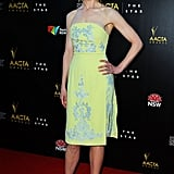 Nicole Kidman wore Erdem to the AACTA Awards.