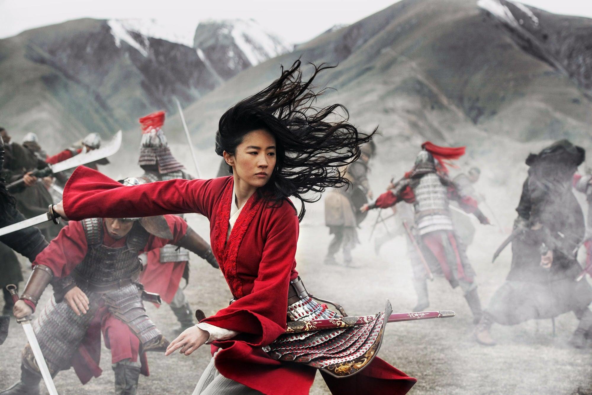 MULAN, LIU Yifei as Mulan, 2020. ph: Jasin Boland /  Disney+ / Courtesy Everett Collection