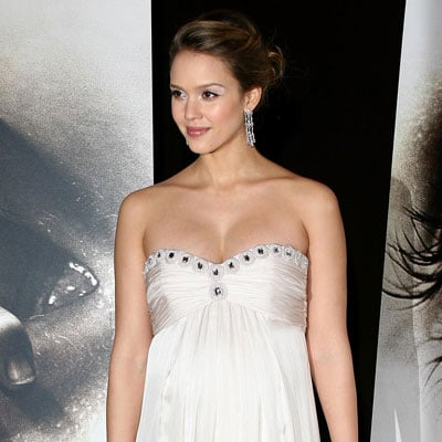 Jessica Alba at The Eye Premiere in Paris