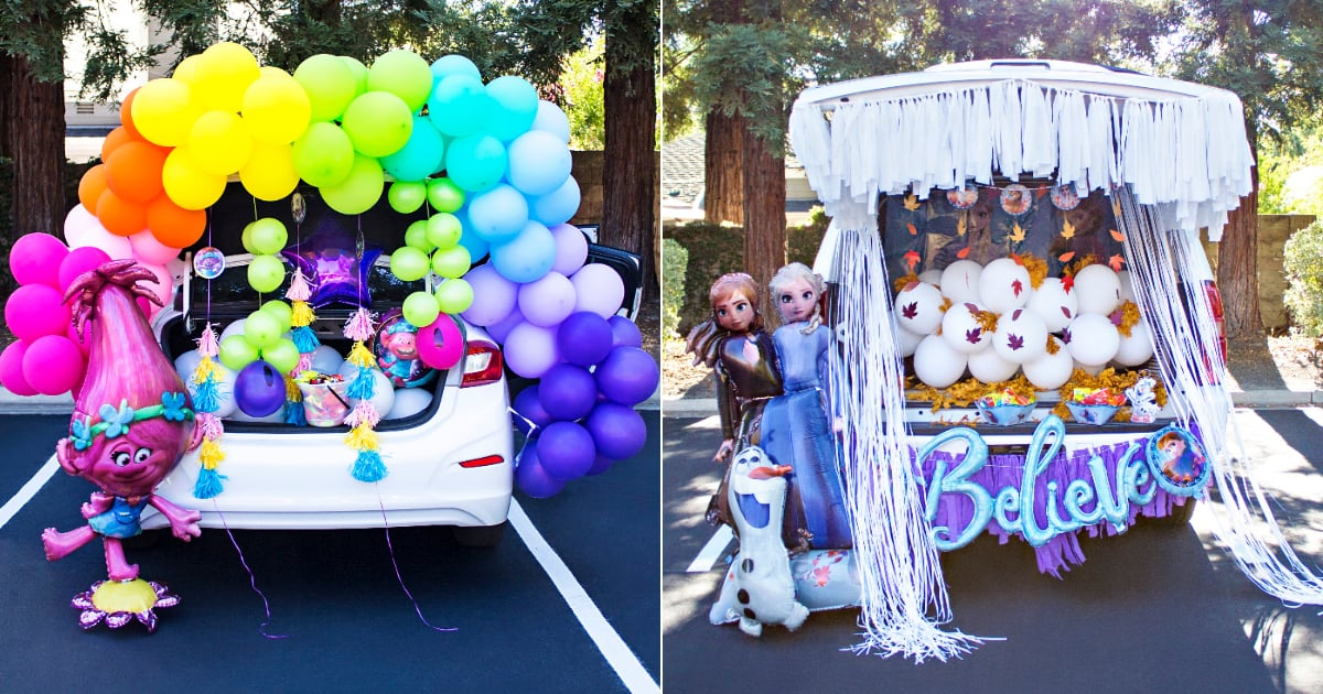 Get Ready For a Socially Distant Halloween With One of Party City's Trunk-or-Treat Theme Ideas