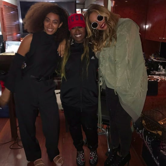 Beyonce With Solange and Missy Elliott at FYF Fest July 2017